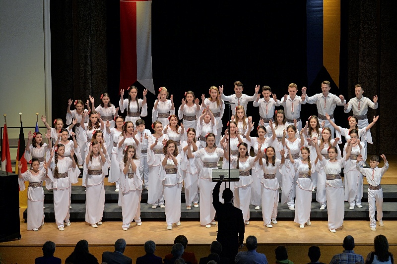 Vevey, le 10 avril 2015 Montreux Choral Festival MCF salle del Castillo Concours International programme imposé ©2015,studio edouard curchod, tous droits réservés