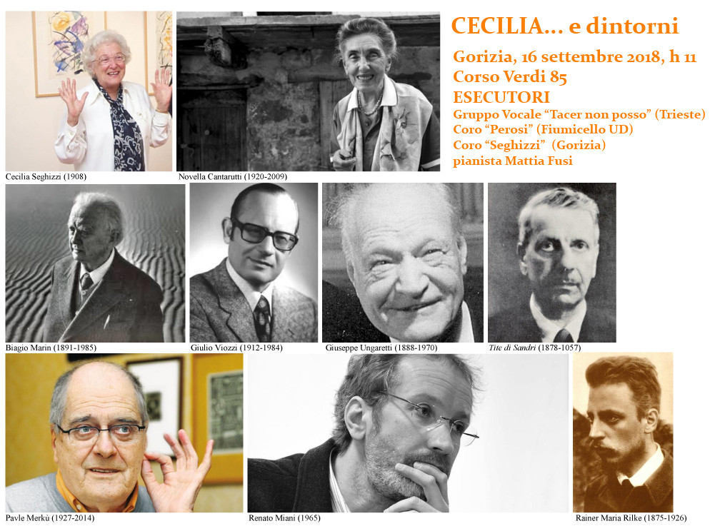 CECILIA e dintorni - Compositori e poeti