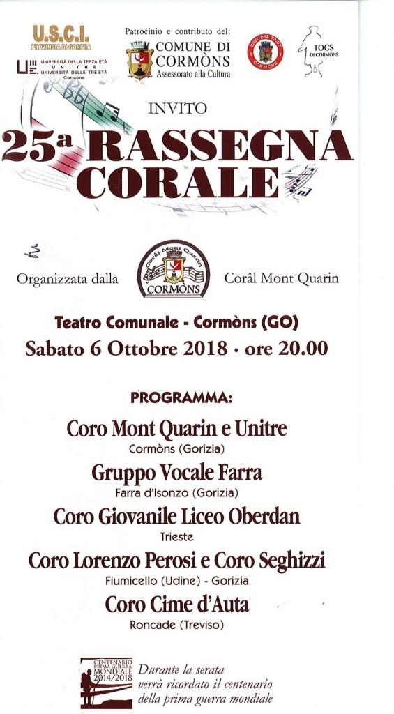 2018 10 6 concerto cormòns
