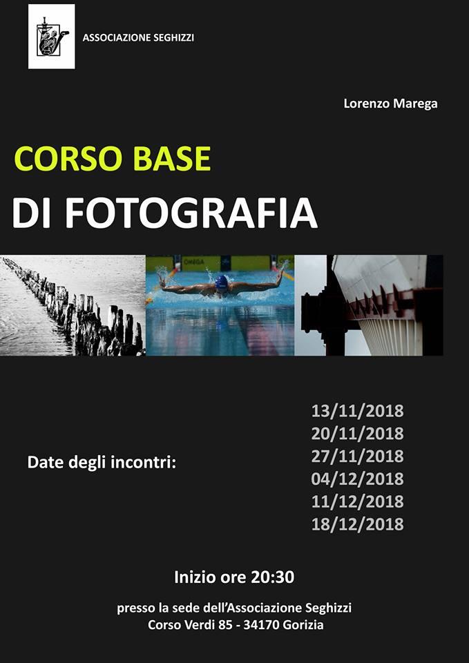 2018 11 13 Corso base di fotografia