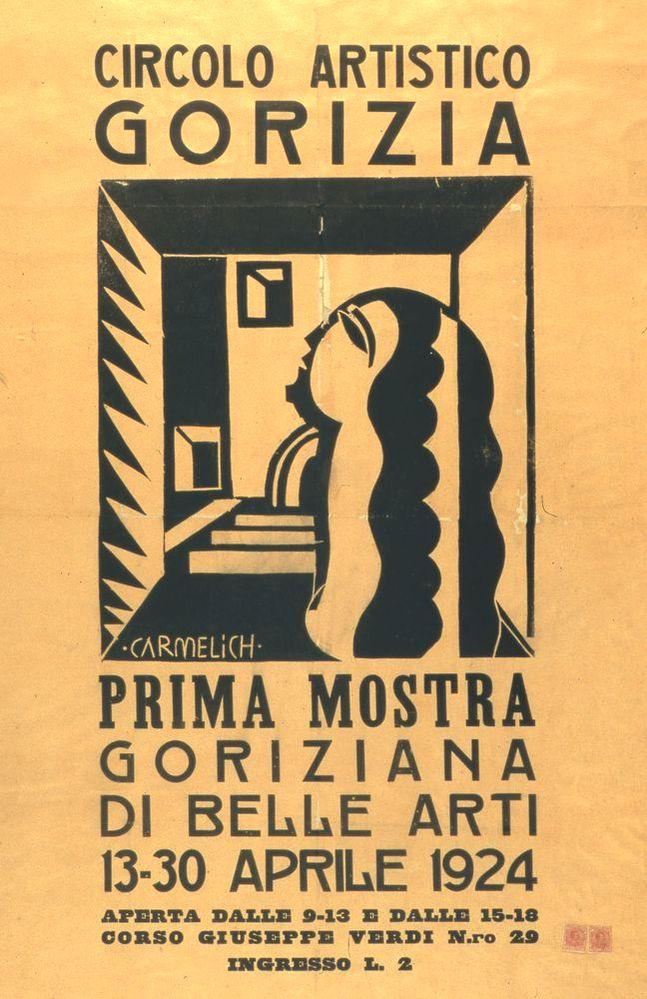 13 aprile 1924 prima mostra go belle arti